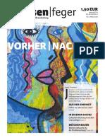 strassenfeger Ausgabe 11/2016  - Vorher Nachher 2016