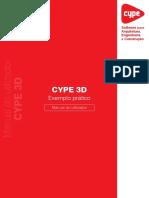 CYPE 3D-Exemplo Pratico
