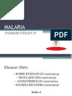 Farmakoterapi Malaria