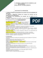Estructura Curricular Adqurir Bienes - Hoteleria