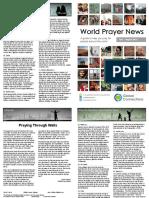 World Prayer News - July/August 2016