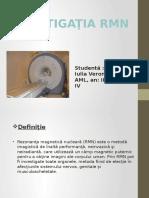 Investigatia RMN\CT