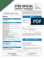Boletín Oficial de la República Argentina, Número 33.423. 21 de julio de 2016