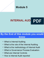 Module on Internal Audit