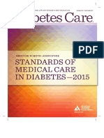 ADA Diabetes Management Guidelines 2015