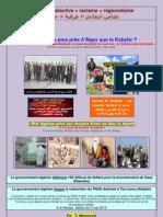 L'Algérie, la Kabylie et la Palestine