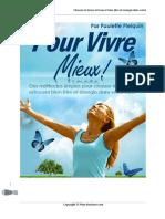 Secret pour miex vivre plein-bonheur.com