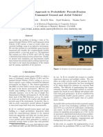 A Hierarchical Approach to Probabilistic Pursuit-evasion Games With Unmanned Ground and Aerial Vehicles
