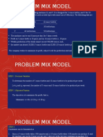 Formulation of Linear Programming Model - Updated
