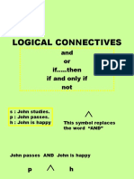 Logic Connective s