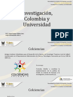 2. Investigación en Colombi Investigación en colombiaa