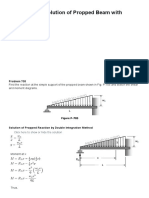 Problem 705 _ Solution of Propped Beam With Increasing Load _ Strength of Materials Review