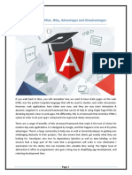 AngularJS – What, Why, Advantages and Disadvantages