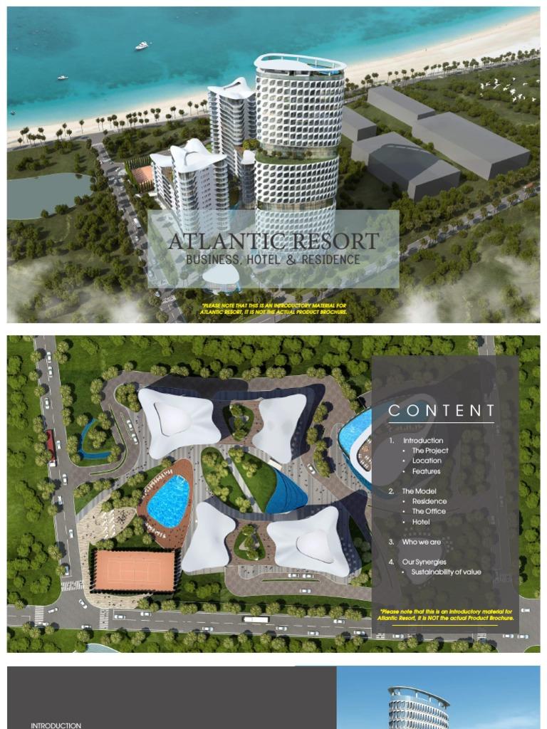 Atlantic Resort Brochure Residential pdf | Apartment | Hotel