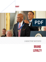 MarketPoint Whitepaper - Brand Loyalty 2016 February