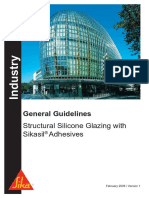 General Guidelines Structural Silicone Glazing With Sikasil Adhesives