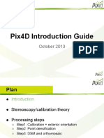 Pix4D Introduction Guide