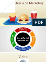 Mezcla de Marketing 4P 4C