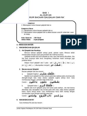 3 Contoh Qalqalah Kubra Dalam Surat Al Ikhlas - Berbagai ...