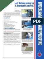 Underlay Ment Waterproofing Instructions