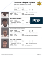Peoria County Jail Booking sheet for July 21, 2016