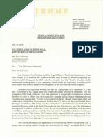 Greenblatt Letter to Schwartz Redaction