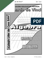 3. Junio – Álgebra - 1er Año