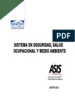 Sistema en Seguridad, Salud Ocupacional y Medio Ambiente