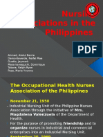 Nursing Associations in the Philippines