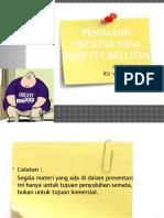 Pengaruh Obesitas Pada Diabetes Mellitus