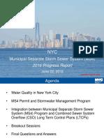 Newtown Creek NYC Progress Report 6-22-2016