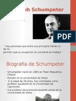 Biografia JSchumpeter