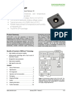 SHT3x Datasheet Analog