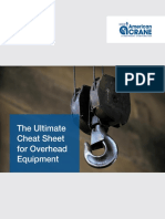 Ultimate Cheat Sheet for Overhead Equipment