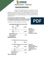 Mecanica de Suelos II, Ejercicios Propuestos Para El Trabajo Academico