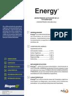 ENERGY- Fícha Técnica