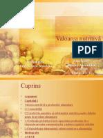 Valoarea nutritiva a produselor alimentare.ppt