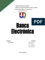 Informe Banca Electronica