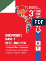 Documento Base y Resoluciones -Trilingue
