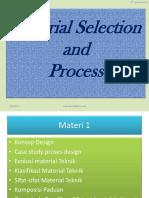 Material Selection and Process Pertemuan Ke 2