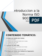 Introduccion a La Norma ISO 9001