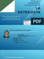 Patricia Moreno-Técnicas y Herramientas de Investigación