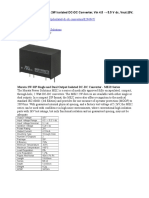 Murata Power Solutions 2W Isolated DC