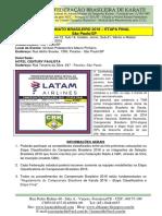 Campeonato Brasileiro - Etapa Final- Informações (São Paulo-SP)