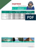 Tarifario Piriapolis Hasta 30 Sep 16