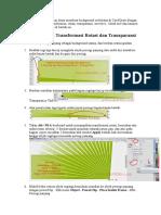 Berikut Ini Tutorial Kumpulan Dasar Membuat Background Sederhana Di CorelDraw Dengan Memanfaatkan Fasilitas Transformasi