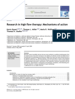 Research in High Flow Therapy