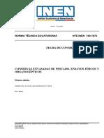 180.1975 CONSERVAS ENVASADAS DE PESCADO. ENSAYOS FISICO Y ORGANOLEPTICOS.pdf