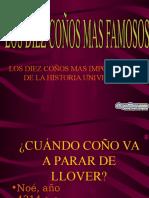 Los10conos-www[1].Diapositivas.com.pps
