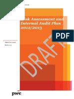 Risk Assessment and Internal Audit Plan 201213.pdf